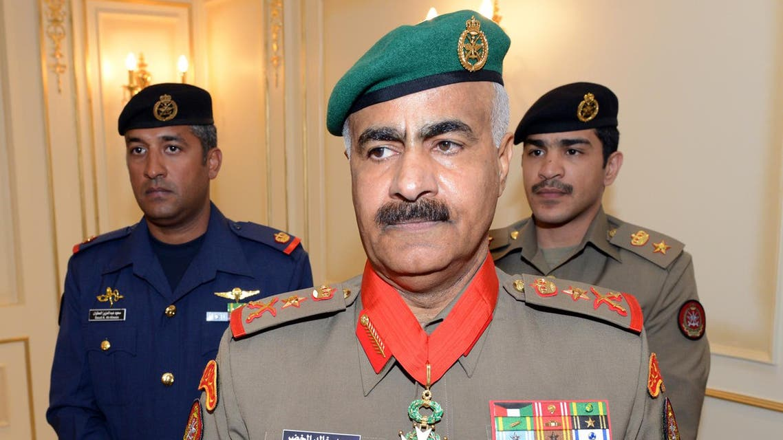 Kuwait Army Chief of Staff, Lieutenant General Mohammad Khaled Al-Kheder. (KUNA)