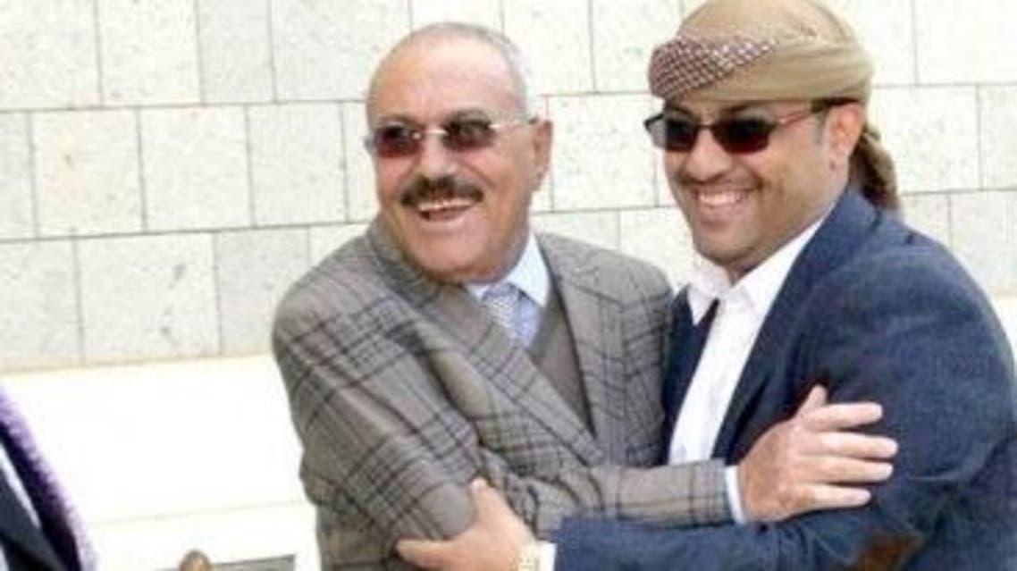 ياسر العواضي وعلي عبدالله صالح