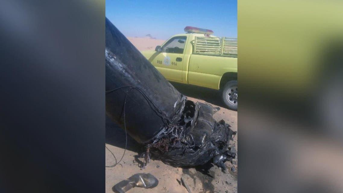 THUMBNAIL_ التحالف: اعتراض صاروخ باليستي وتدميره فوق نجران