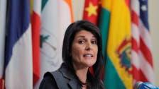 ایرانی عوام حکمران ٹولے سے مراعات کا حساب چاہتے ہیں: نکی ہیلی