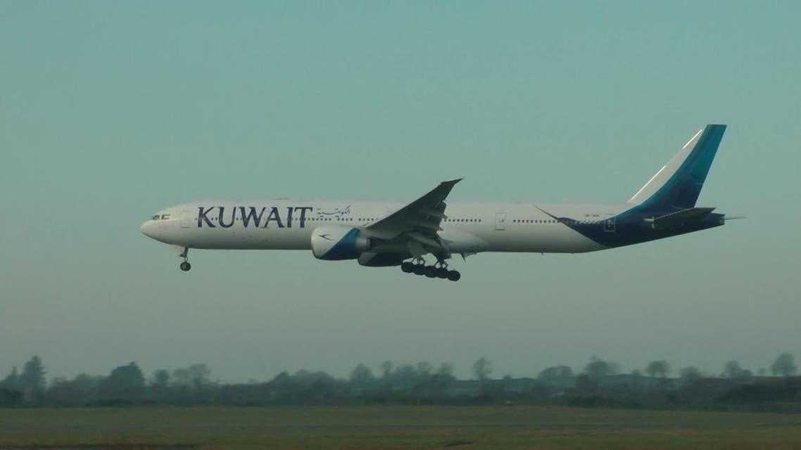 kuwait plane