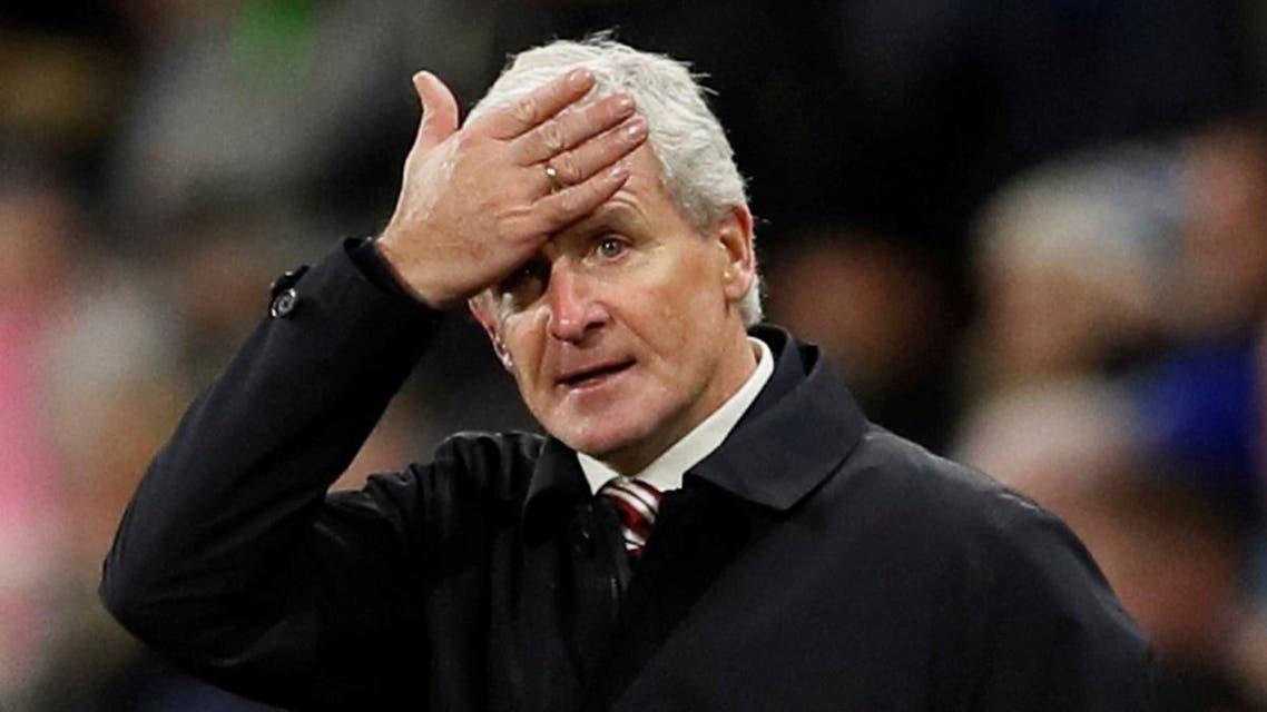 Decision by Stoke City to sack Mark Hughes came within hours of a shock 2-1 defeat in the FA Cup third round by Coventry City. (Reuters)