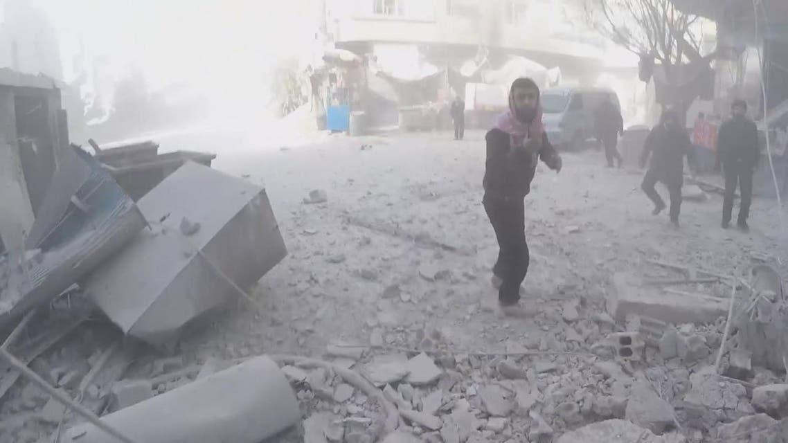 THUMBNAIL_ النظام يحاول كسر الحصار عن ضباطه في الغوطة