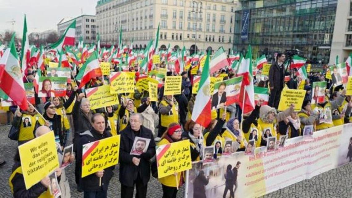 Germany  Irani Protest