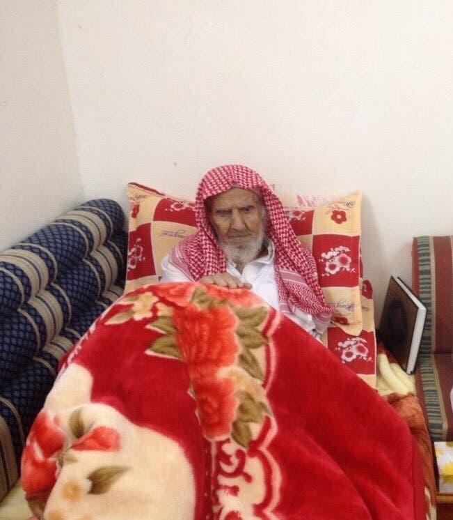 أكبر معمر في السعودية  الشيخ  علي العلكمي الذي رحل عن عمر 147 عاماً