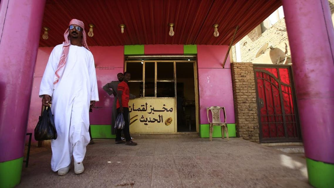 Angry Sudanese queued outside bakeries in Khartoum as bread prices doubled overnight. (AFP)