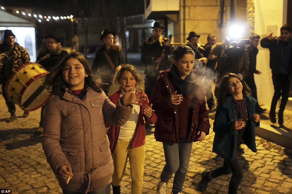 Portugal epiphany celebrations. (AP)