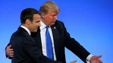Trump, Macron agree that Iran protests are 'sign of regime's failure'