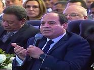 السيسي: لن نسمح بحدوث أزمة مياه في مصر