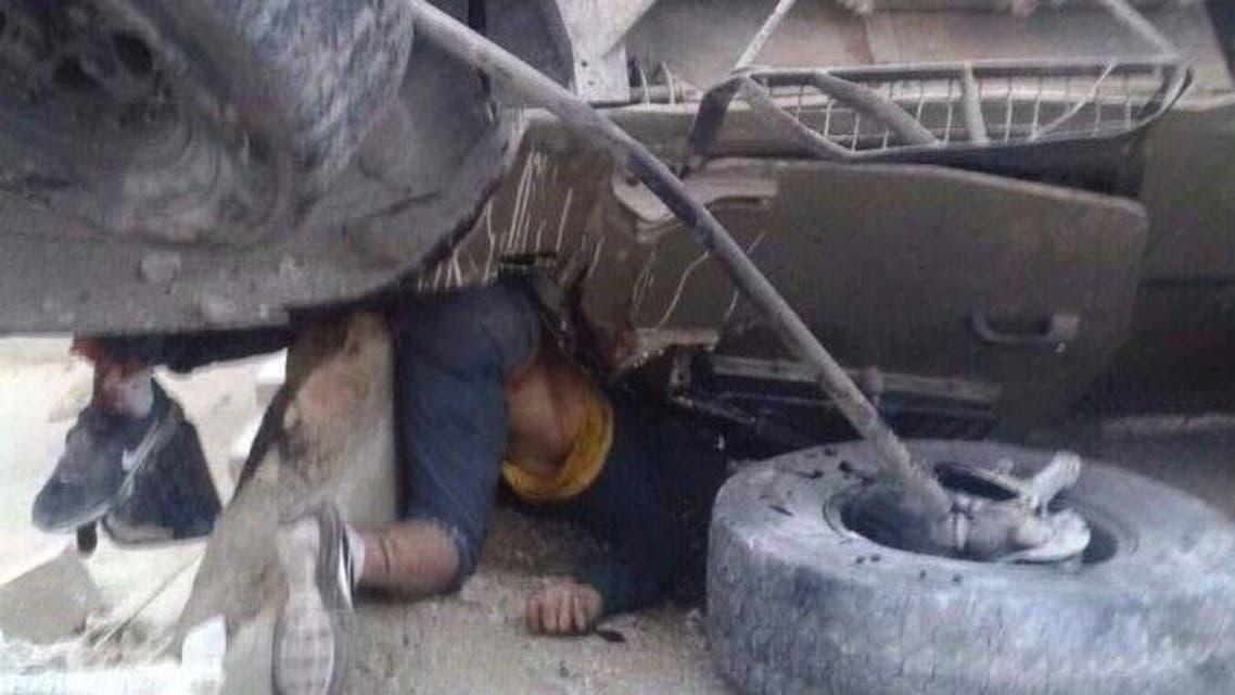 الشاب الفلسطيني عبد الله غنيمات