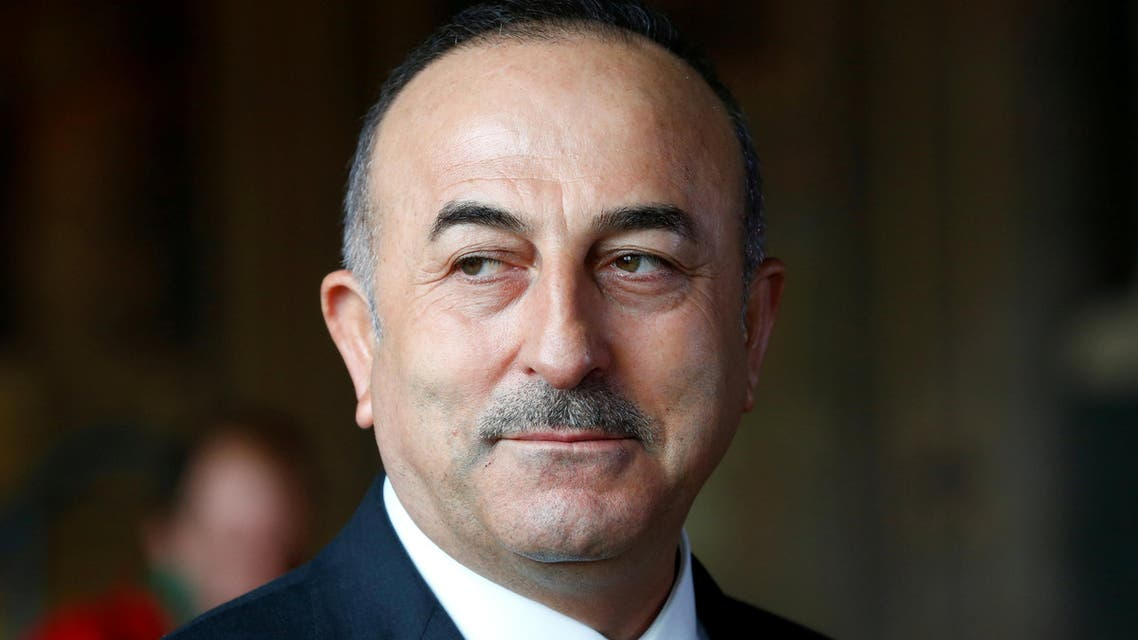 Turkish Minister of Foreign Affairs Mevlut Cavusoglu attends a news conference in Goslar, Germany, January 6, 2018. REUTERS/Ralph Orlowski TPX IMAGES OF THE DAY