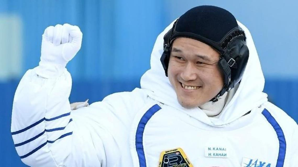"""The 41-year-old Kanai, who went to space last month for a nearly six-month mission, posted on Twitter on Monday that he had """"a big announcement."""" (Reuters)"""