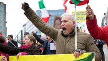 VIDEO: Iranians protest in Brussels against upcoming Zarif visit