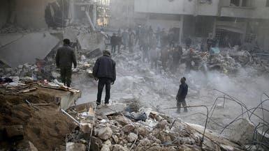 الأمم المتحدة: القصف قتل 85 شخصا بالغوطة منذ 10 أيام