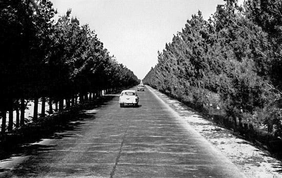 شاهراه کابل-هرات سال 1960
