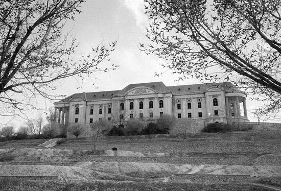قصر شاه امانالله خان کابل