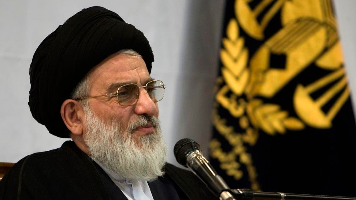 Iran's Judiciary Chief Mahmoud Shahroudi speaks at a conference for reducing the use of incarceration in Tehran June 13, 2007. (Reuters)