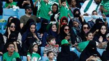 بالصور.. هكذا ستدخل العائلات السعودية غداً للملاعب