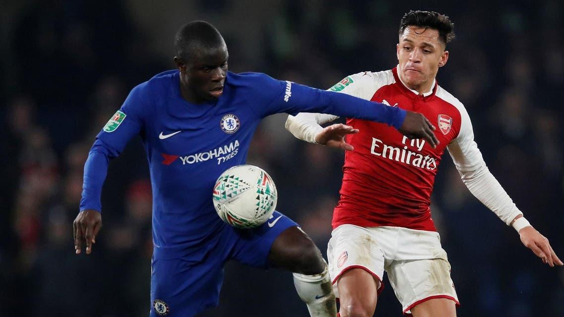 Arsenal Vs Chelsea Reuters official