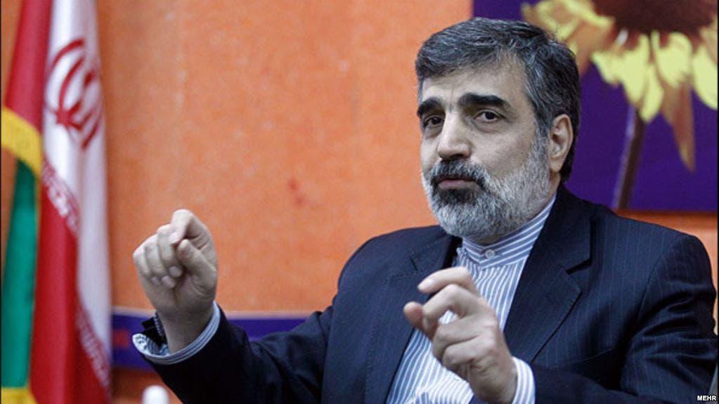 المتحدث باسم منظمة الطاقة الذرية الإيرانية بهروز كمالوندي