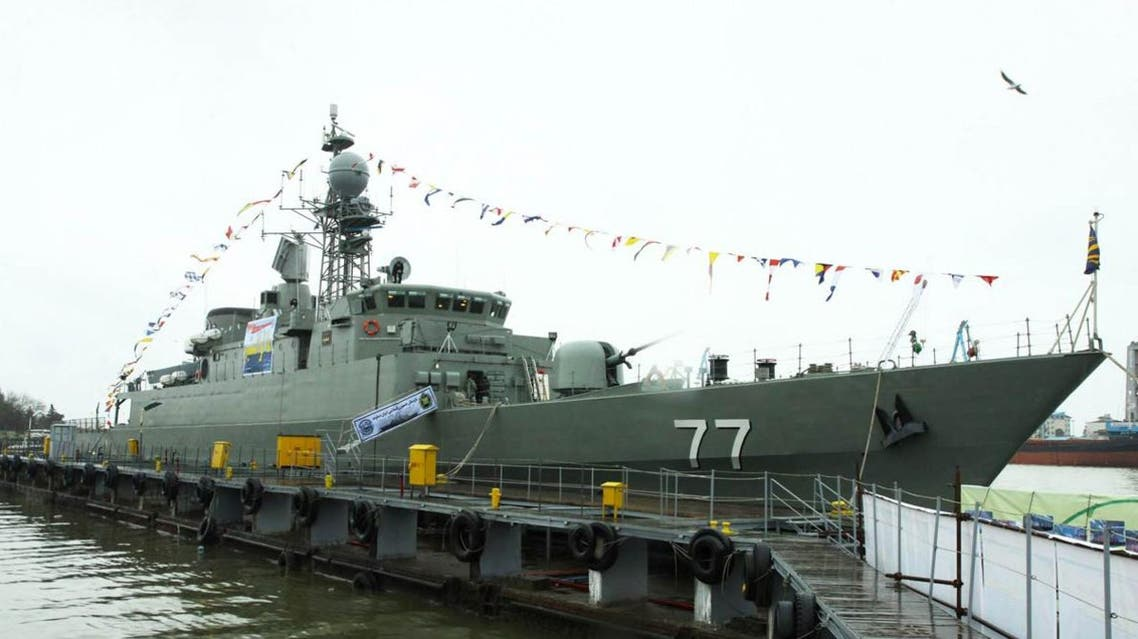 Iranian navy ship (IRNA)