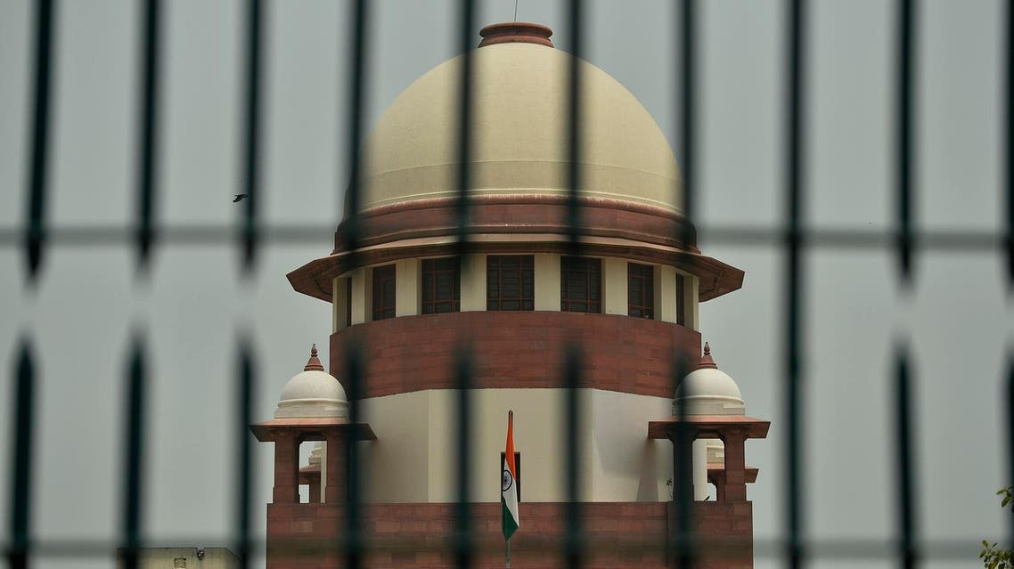 The Indian Supreme Court building in New Delhi on May 26, 2016. (AFP)