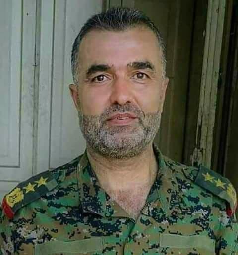 العميد علي ديوب قائد كتيبة 138 دبابات الحرس الجمهوري