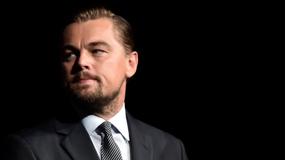 "Leonardo DiCaprio during the Paris premiere of the documentary film ""Before the Flood"" on October 17, 2016. (Reuters)"
