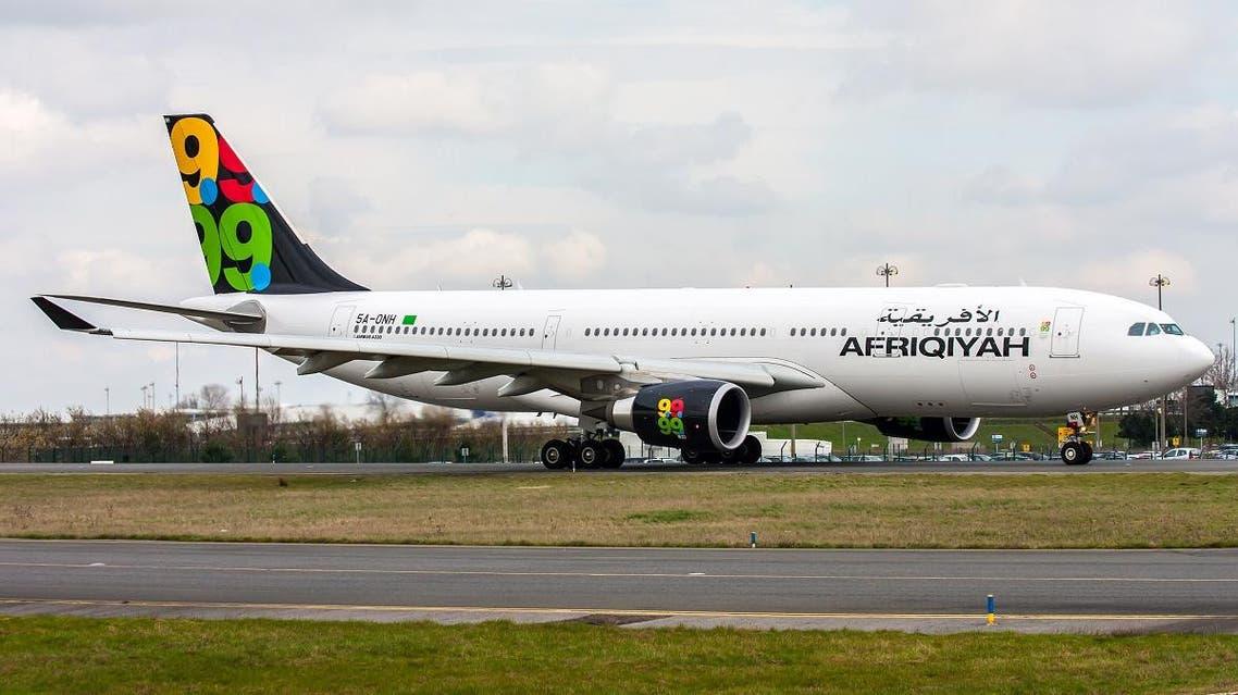 Libyan airline Afriqiyah shutterstock