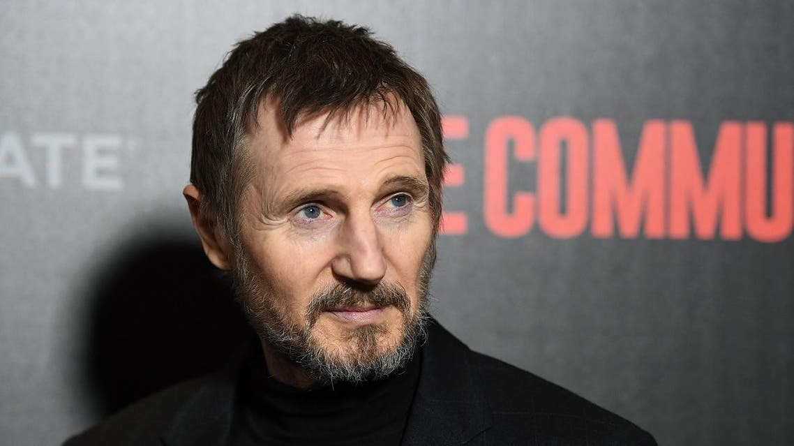 """Liam Neeson attends the New York premiere of """"The Commuter"""" at AMC Loews Lincoln Square. (AFP)"""