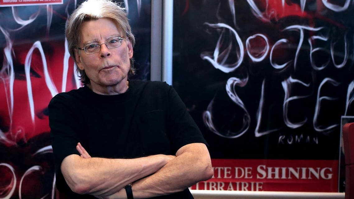 American author Stephen King poses for photographers. (File photo: AFP)