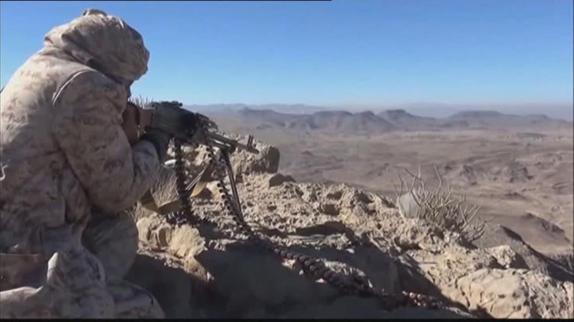 THUMBNAIL_ مقاتلات التحالف تستهدف مواقع الميليشيات في محافظة البيضاء