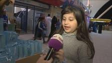 استاد الملك فهد يضج بالعائلات.. وشكر مميز من طفلة