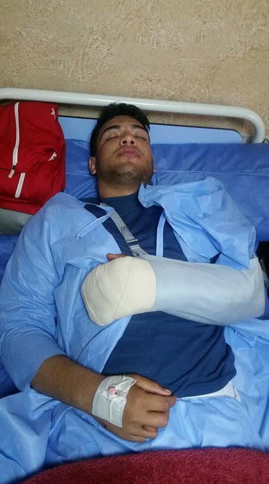 عبداللطيف منيع في المستشفى