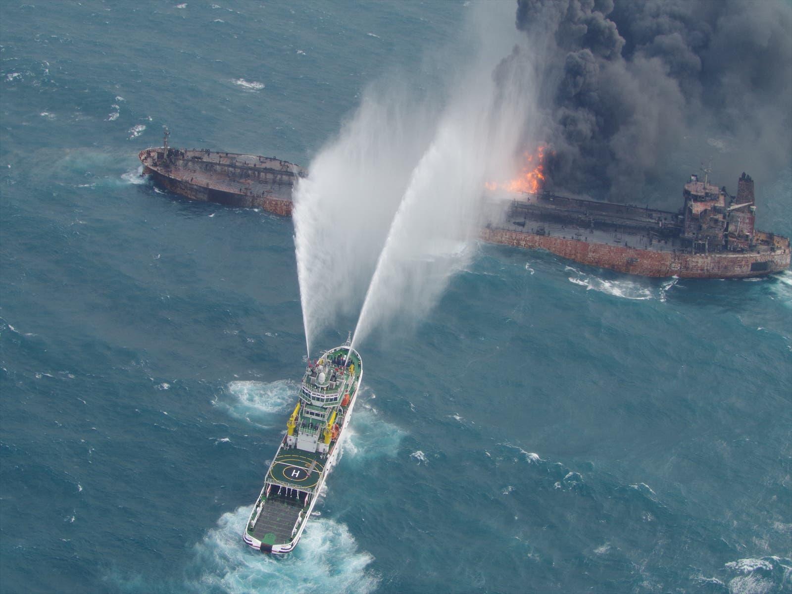Iran oil tanker. (Reuters)