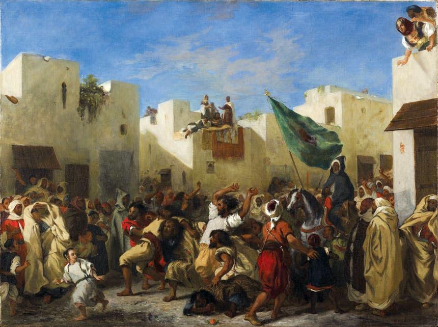 لوحة «طنجة» (1838م)