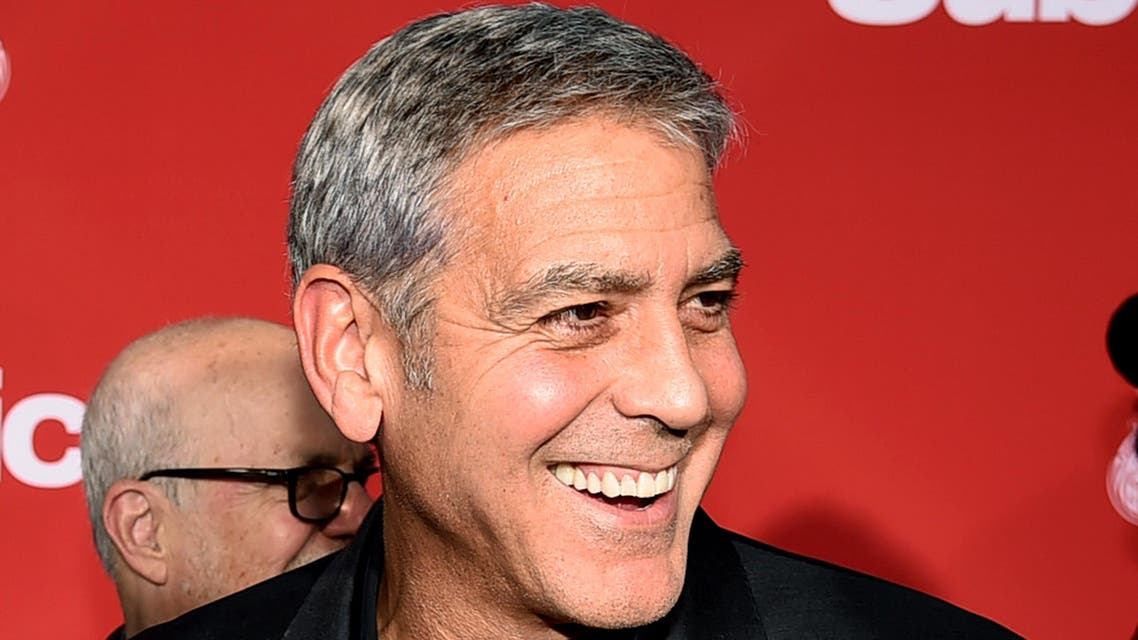 """LOS ANGELES, CA - OCTOBER 22: Executive producer/director George Clooney arrives at the premiere of Paramount Pictures' """"Suburbicon"""" at the Village Theatre on October 22, 2017 in Los Angeles, California. Kevin Winter/Getty Images/AFP  KEVIN WINTER / GETTY IMAGES NORTH AMERICA / AFP"""