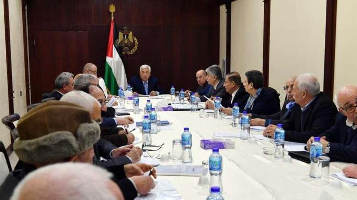 اجتماع اللجنة التنفيذية لمنظمة التحرير الفلسطينية