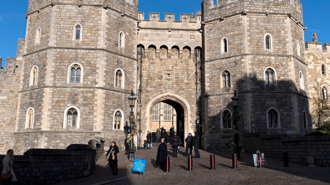 Windsor Castle in the afternoon sunshine on December 08, 2017. (AFP)