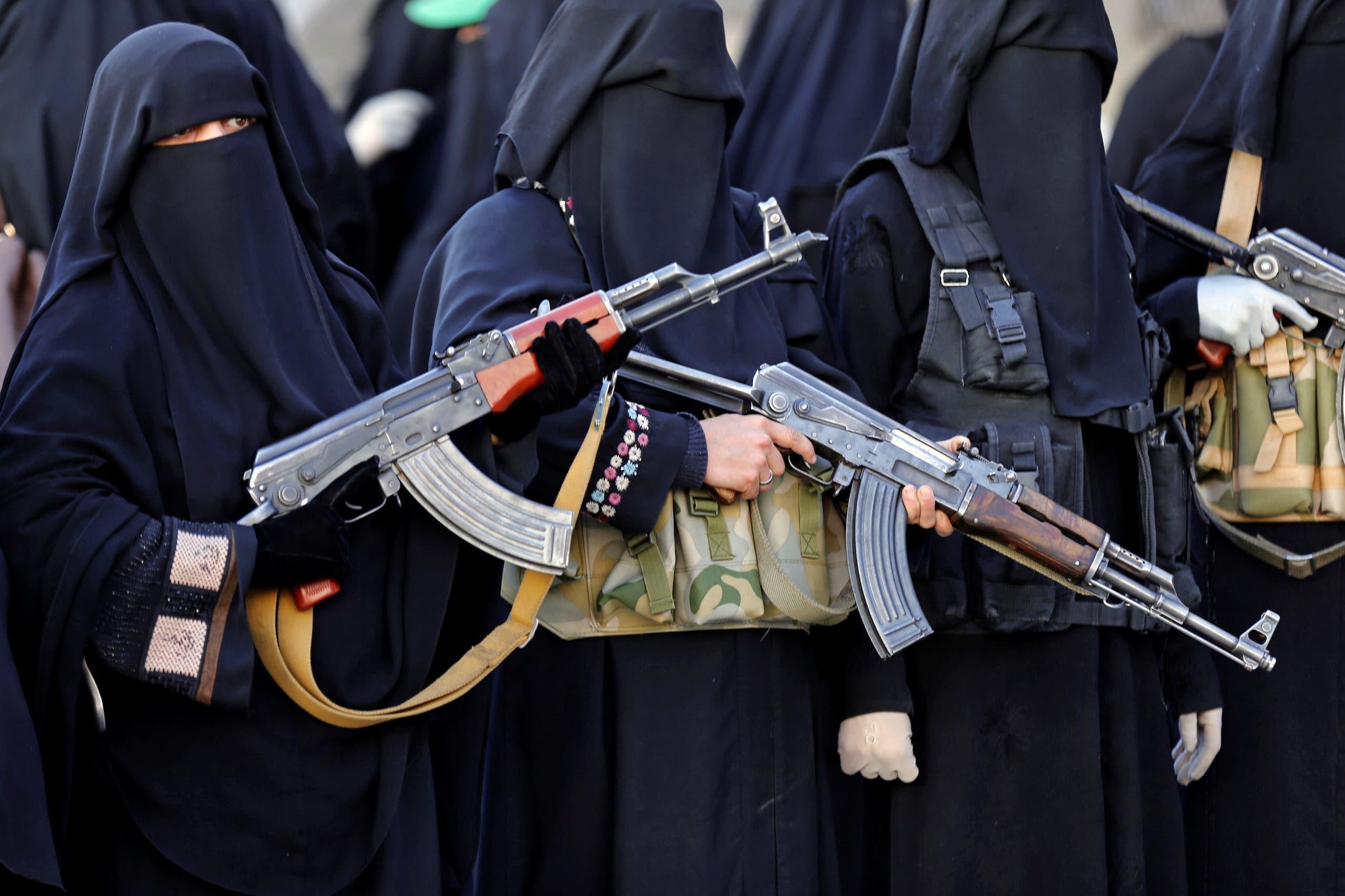 تجنيد نساء الحوثي