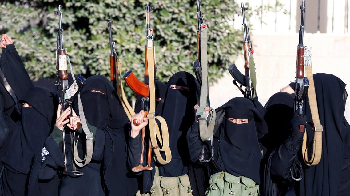 تجنيد نساء الحوثي 3