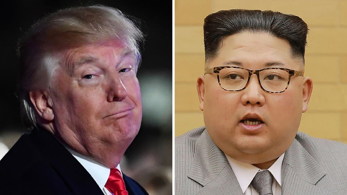 """North Korea's official party newspaper on Tuesday dismissed Trump's """"swaggering"""" as nothing but the """"spasm of a lunatic"""". (AFP)"""