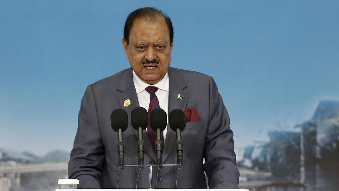 """""""This Fatwa provides a strong base for the stability of a moderate Islamic society,"""" Pakistan President Mamnoon Hussain wrote in the book. (Reuters)"""