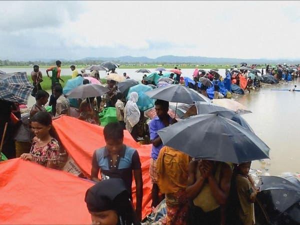 بعد عام من النزوح.. آلاف الروهينغا يتظاهرون في مخيماتهم