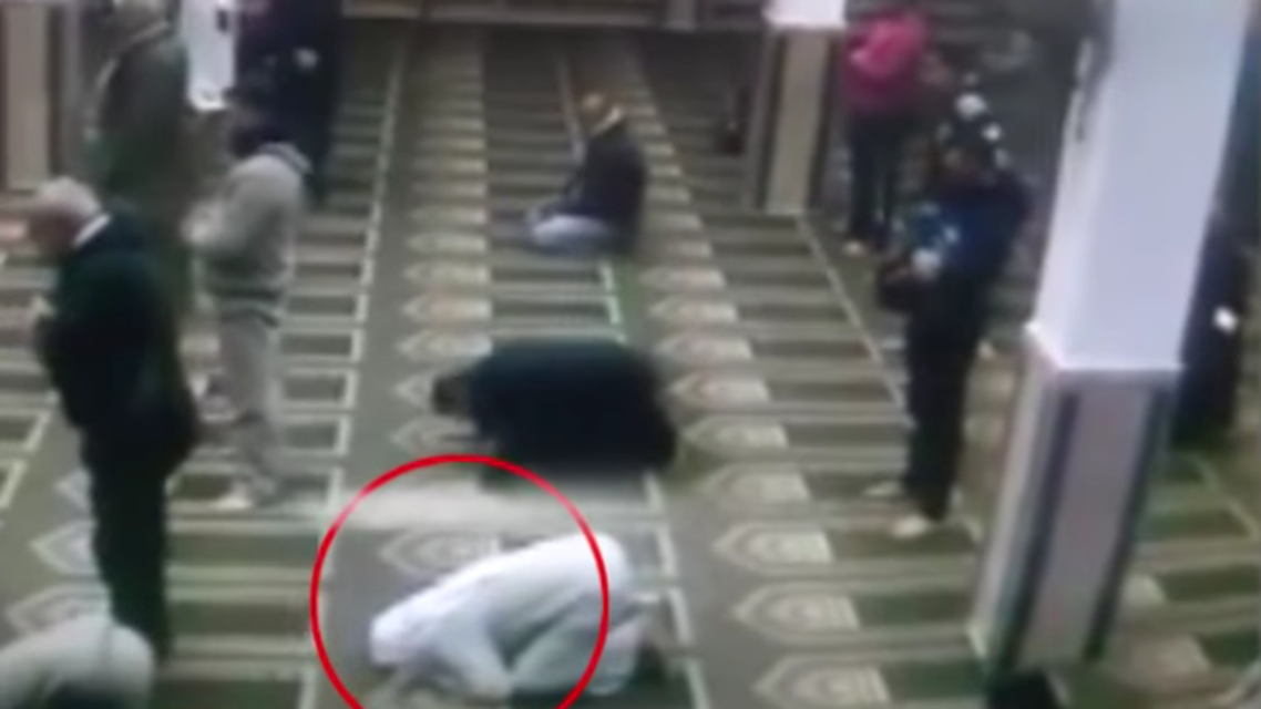egypt mosque death. (Screen grab)