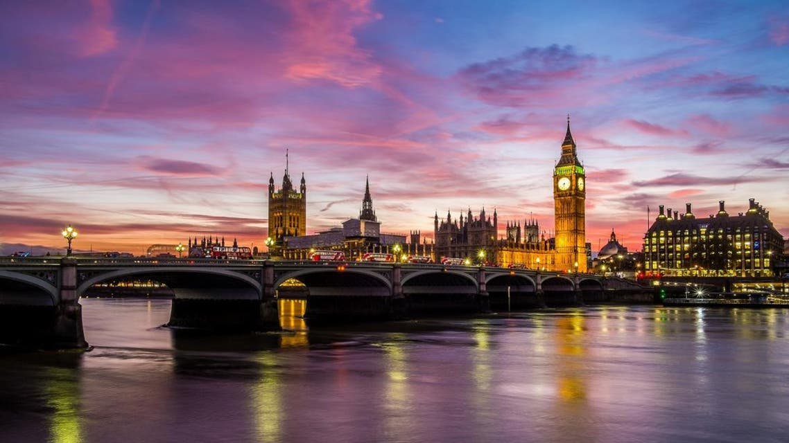 Houses of Parliament at dusk shutterstock uk