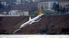 Turkey starts lifting stricken Pegasus Airlines plane from cliff