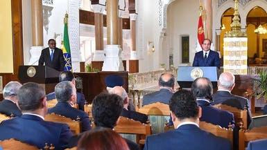 السيسي: قلقون من جمود مفاوضات سد النهضة
