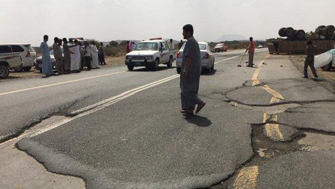 هذا ما قرره وزير النقل بعد مصرع 7 أفراد في حادث بجازان