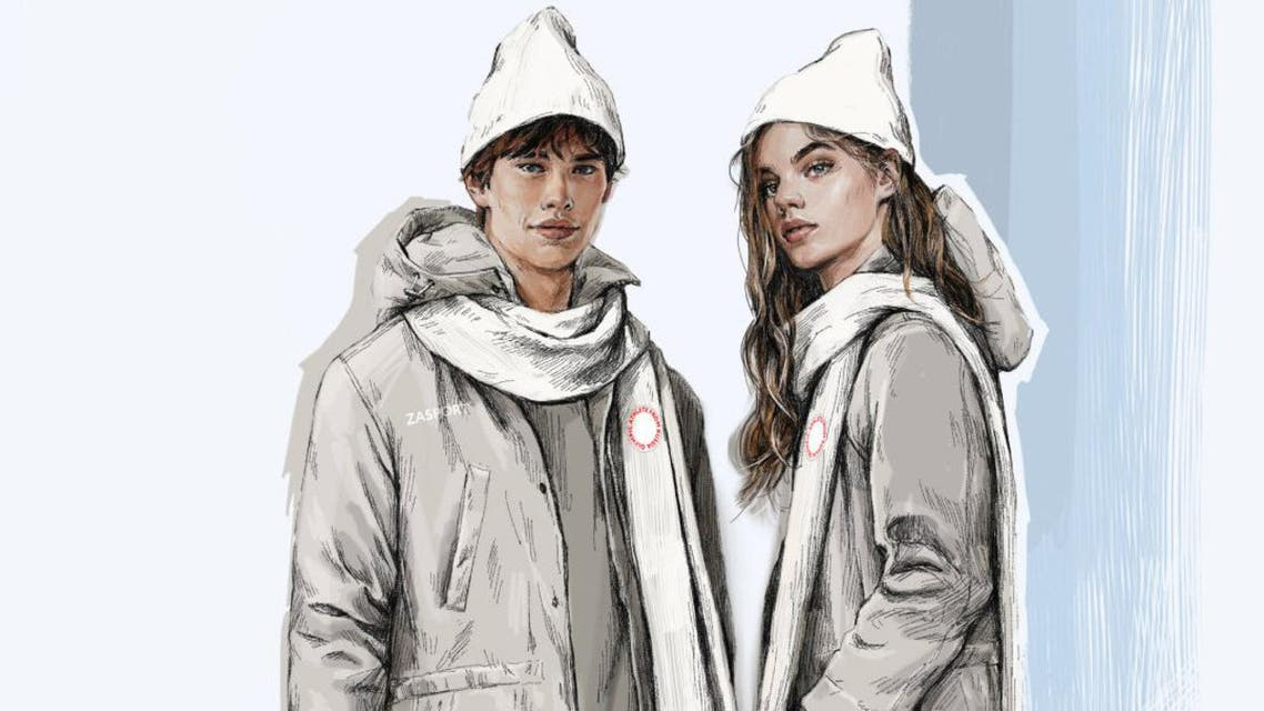 A sketch provided by ZASPORT, the official clothing supplier to the Russian Olympic Committee, on January 18, 2018 shows design for neutral uniform for Russian athletes competing at 2018 Winter Olympics. ZASPORT/Handout via REUTERS ATTENTION EDITORS - THIS IMAGE WAS PROVIDED BY A THIRD PARTY. NO RESALES. NO ARCHIVES.